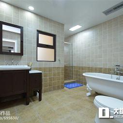 美式卫浴装修案例