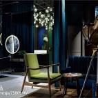 时尚造型店休闲区设计
