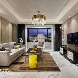 干练新古典风格客厅设计