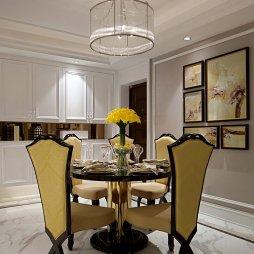 新古典风格简洁餐厅设计