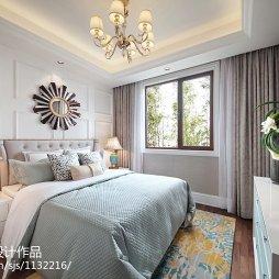 唯美新古典风格卧室装修