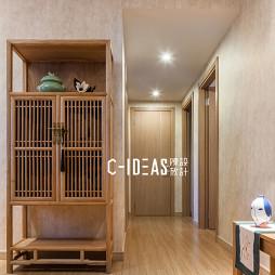 中式三居玄关设计图