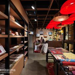 复古风购物商店展示架设计