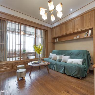 原木日式客厅设计