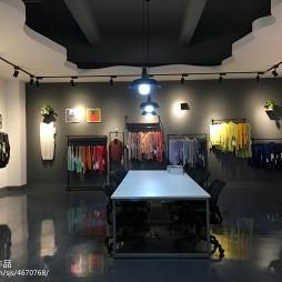 博尔服装厂服装展厅装修