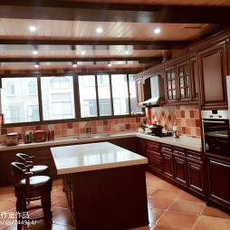 美式风格复式厨房装修