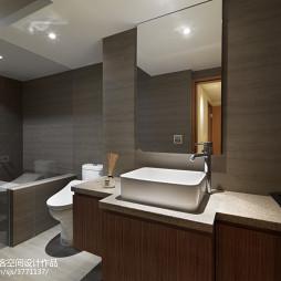 现代风格简洁卫浴装修