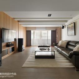 舒緩現代風格客廳裝修