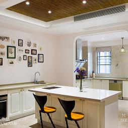 美式风格别墅吧台设计