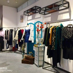 Rynas.k店展示架设计