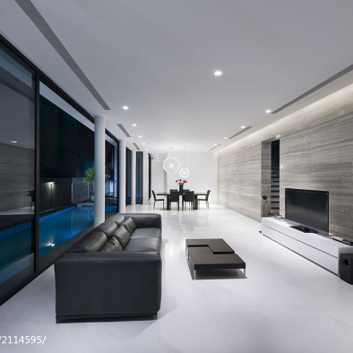 安藤忠雄设计作品-阿尼克路23号住宅