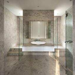 现代风格别墅卫浴设计案例