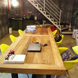 设计工作室会议桌设计