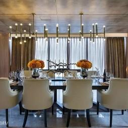 豪华欧式风格餐厅装修案例