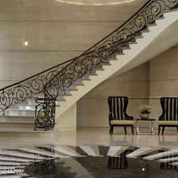 休闲会所楼梯设计