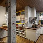 LOFT风格开放式厨房装修