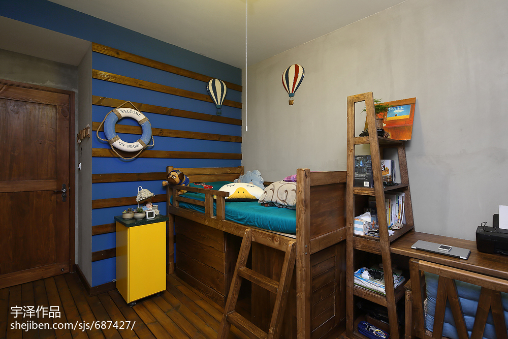 LOFT风格创意儿童房装修