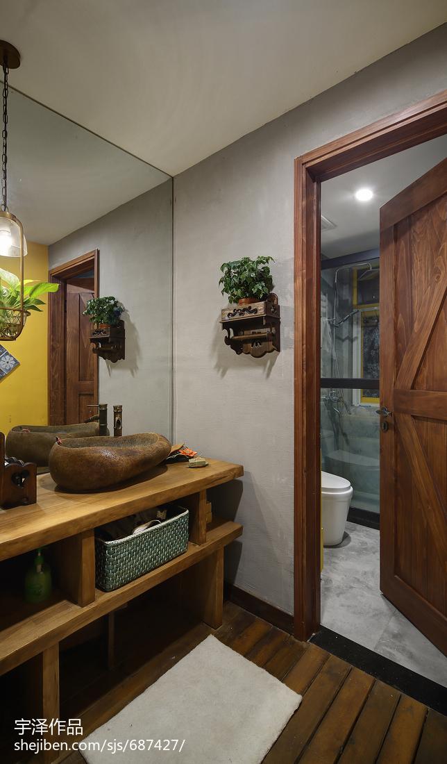 LOFT风格卫浴洗手台设计