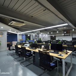 工业风办公室办公区装修