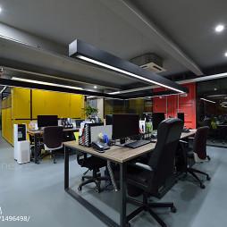 办公室座位区设计