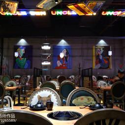 水晶焖锅店装修