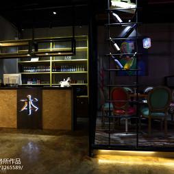 水晶焖锅店前台装修