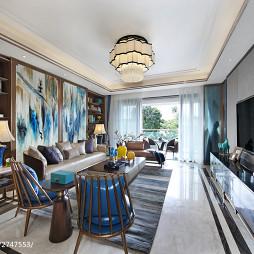 优雅中式风格客厅装修案例