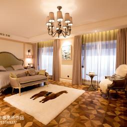 别墅现代风格卧室设计