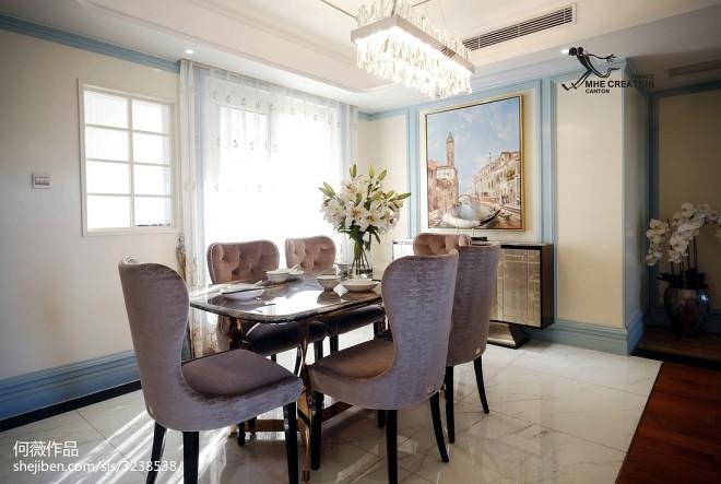 明亮法式餐厅装修
