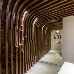 别墅现代风格创意过道设计
