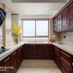 闲适美式风格厨房设计