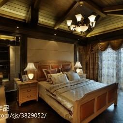 欧式风情卧室装饰图
