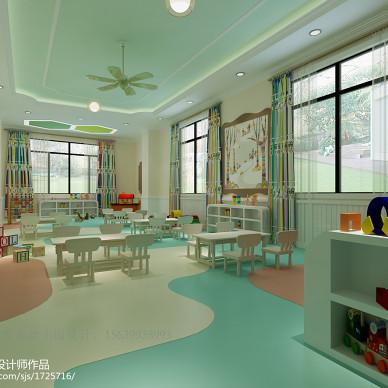郑州国龙英才幼儿园设计 郑州幼儿园设计公司_2600386