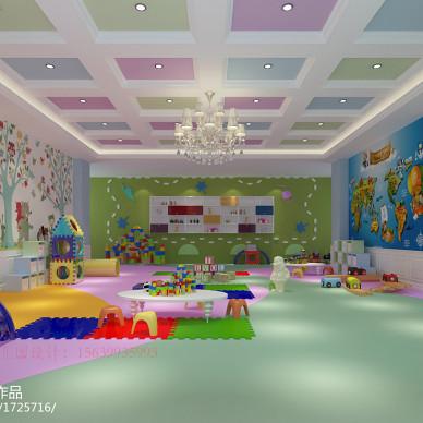 郑州国龙英才幼儿园设计 郑州幼儿园设计公司_2600387
