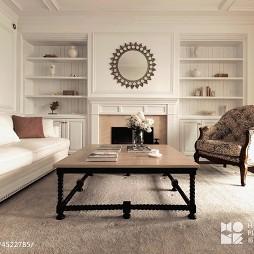 白色美式客厅装修