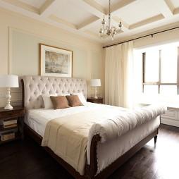 温润美式卧室布置