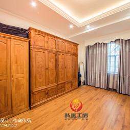 中式别墅衣柜设计