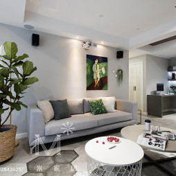 时尚现代风格客厅图