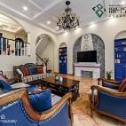 经典地中海风格客厅设计