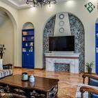 地中海风格个性背景墙设计