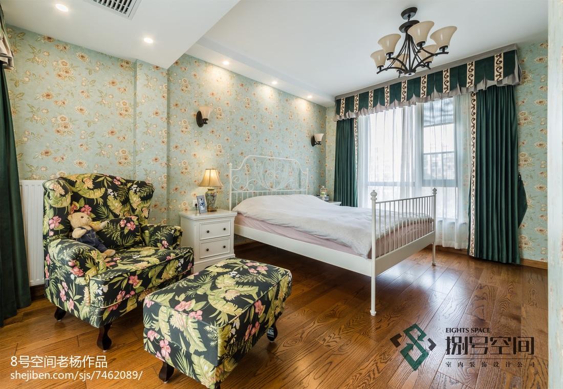 别墅地中海风格卧室装修