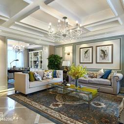 新古典风格舒适客厅装修