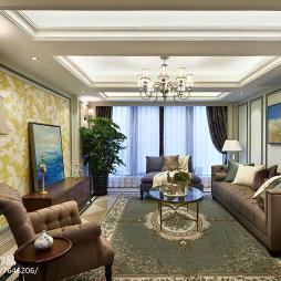 新古典别墅客厅装修
