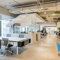 唐硕办公室办公区设计