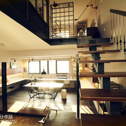 寐臣工作室楼梯设计