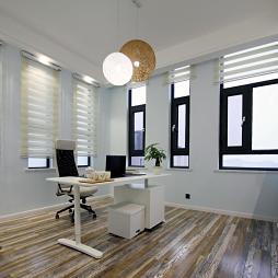 黑白调现代风格书房装修