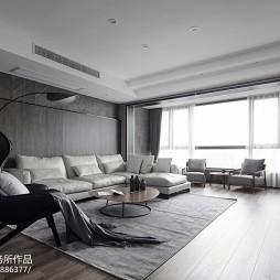 大气现代风格客厅图片