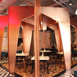 西餐厅就餐区效果图