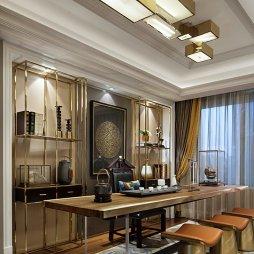 新古典风格样板房书房装修