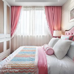 新古典风格温馨儿童房装修